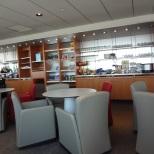 Air France lounge at ORD